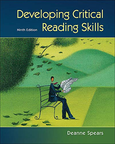 Developing Critical Reading Skills: Spears, Deanne