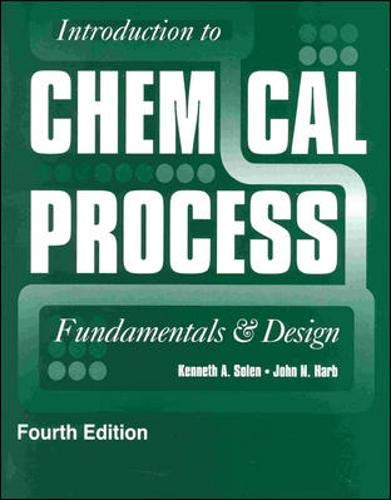 9780073407937: Introduction to Chemical Process: Fundamentals and Design