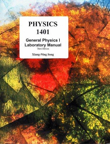 9780073408071: Physics 1401 General Physics I Laboratory Manual