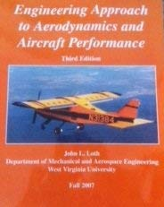 9780073408811: Engineering Approach to Aerodynamics and Aircraft Performance (Department of Mechanical and Aerospace Engineering (WVU))