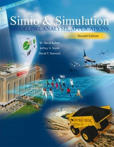 9780073408927: LSC CPSV (UNIV OF CINCINNATI CINCINNATI) Simio and Simulation:   Modeling, Analysis, Applications