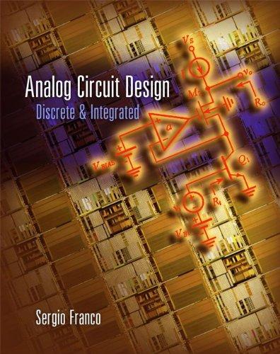 9780073408941: LSC Analog Circuit Design: Discrete and Integrated (CPSV)