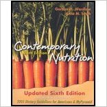 9780073422343: Contemporary Nutrition - Updated Edition