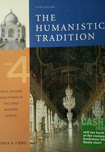 9780073437453: Humanistic Tradition,Book.4,5 and 6 - Package