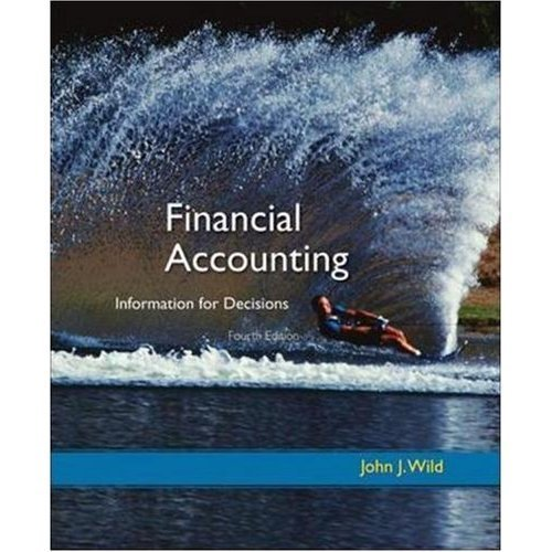 9780073488257: Financial Accounting: Information for Decisions [w/ Homework Manager Access Card]