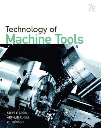 9780073510835: Technology Of Machine Tools