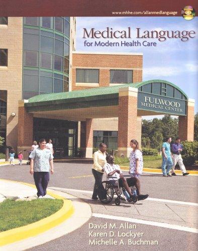 9780073510910: Medical Language for Modern Health Care