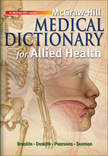 9780073510965: McGraw-Hill Medical Dictionary for Allied Health