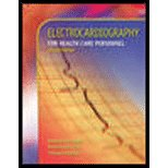 9780073510989: Electrocardiography For Health Care Personnel