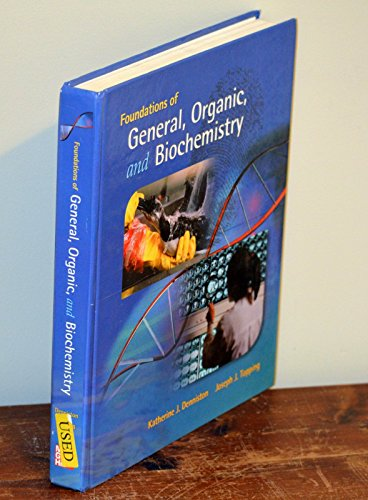 9780073511061: Foundations of General, Organic, and Biochemistry