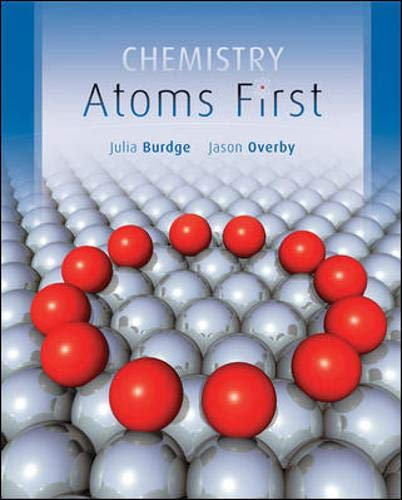 9780073511160: Chemistry: Atoms First
