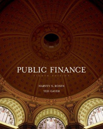 9780073511283: Public Finance