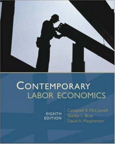 9780073511320: Contemporary Labor Economics