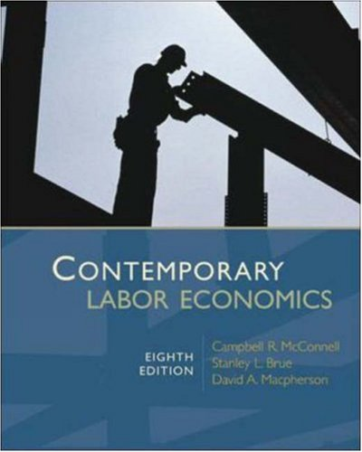 9780073511320: Contemporary Labor Economics