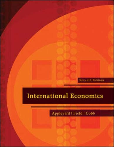 9780073511344: International Economics (The Mcgraw-Hill Series Economics)