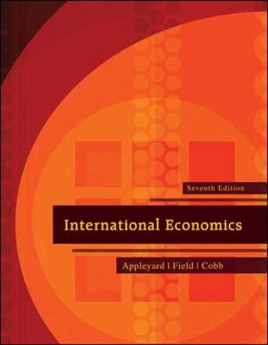 9780073511344: International Economics (The Mcgraw-Hill Series Economics)