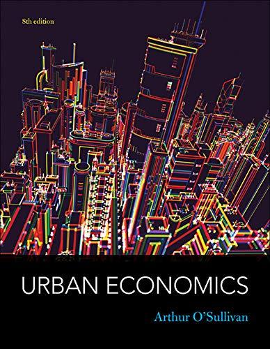 9780073511474: Urban Economics