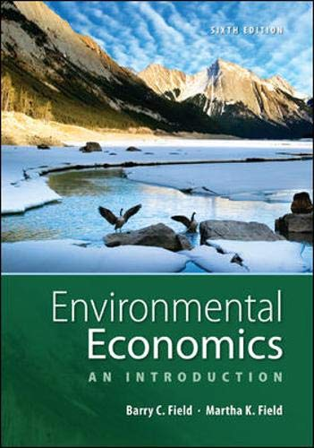 9780073511481: Environmental Economics: An Introduction (The Mcgraw-Hill)