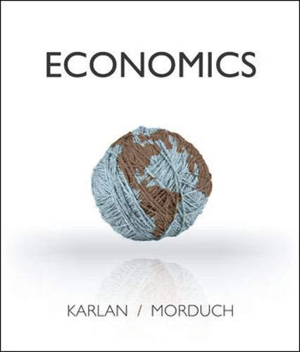 Economics: Karlan, Dean, Morduch,