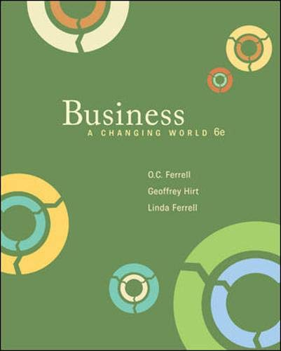 9780073511665: Business: A Changing World