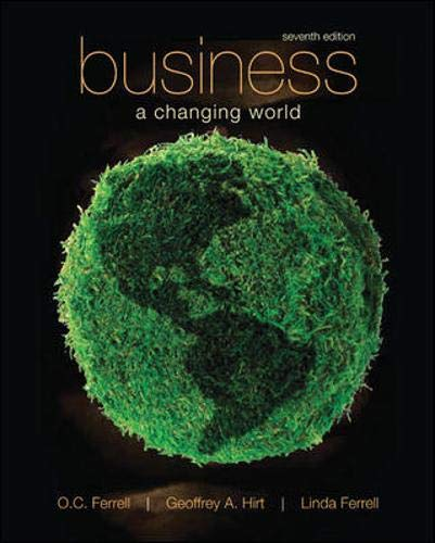 9780073511726: Business: A Changing World