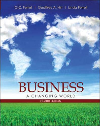 9780073511757: Business: A Changing World