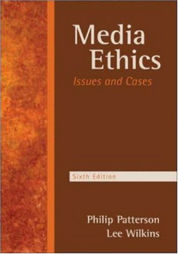9780073511894: Media Ethics: Issues and Cases