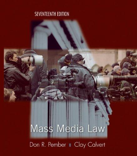 Mass Media Law: Don Pember, Clay