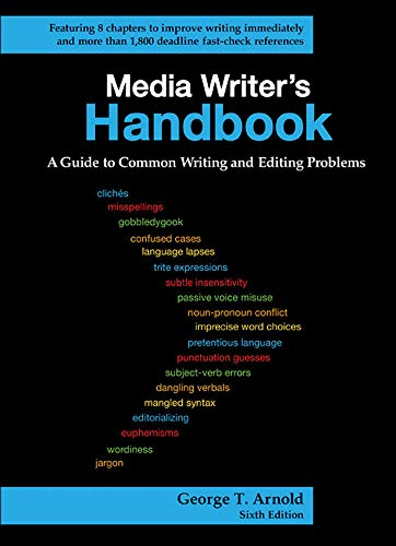 9780073512006: Media Writer's Handbook: A Guide to Common Writing and Editing Problems