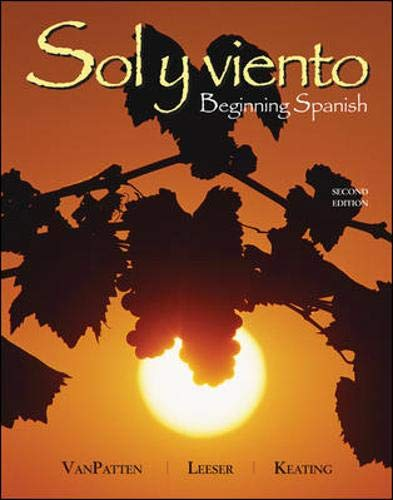 9780073513126: Sol y viento: Beginning Spanish