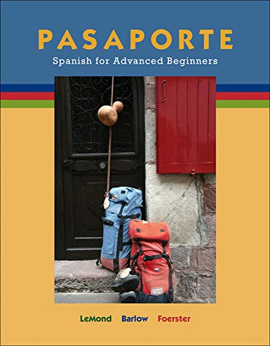 9780073513188: Pasaporte: Spanish for Advanced Beginners