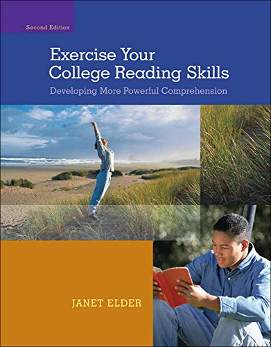 9780073513478: Exercise Your College Reading Skills: Developing More Powerful Comprehension