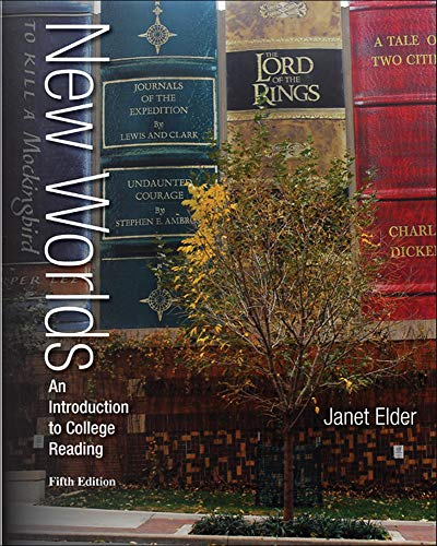 9780073513508: New Worlds: An Introduction to College Reading