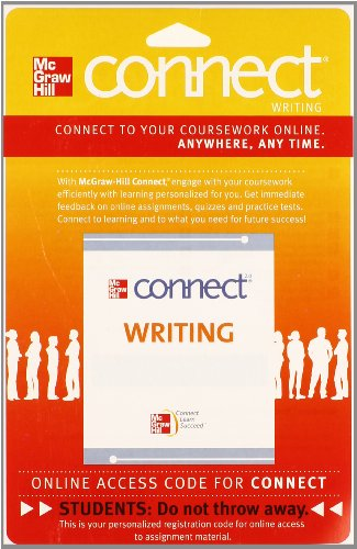 9780073513546: Connect Writing 2.0 Access Card