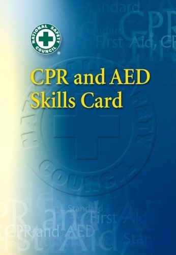 9780073513645: CPR & AED Skills Refresher Card