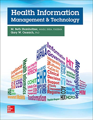 9780073513683: Health Information Management and Technology (P.S. Health Occupations)