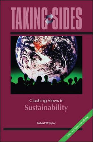 9780073514505: Taking Sides: Clashing Views in Sustainability