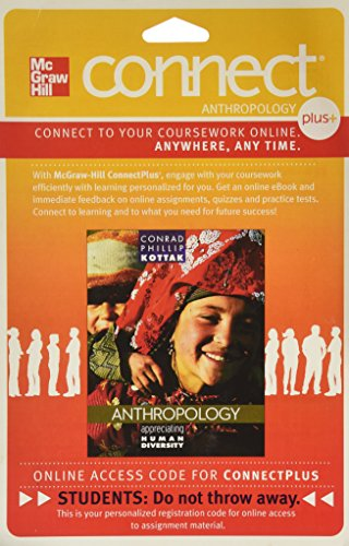 9780073514741: Connect Access Card for Kottak Appreciating Anthropology 15e
