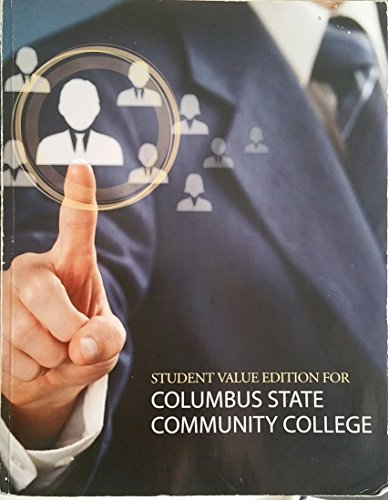 9780073514857: Business Ethics Decision Making for Personal Integrity and Social Responsibility Third Edition Student Value Edition for Columbus State Community College