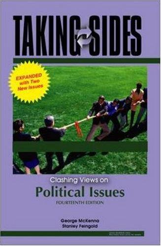 9780073514956: Taking Sides: Clashing Views on Political Issues, Expanded (Taking Sides: Political Issues)