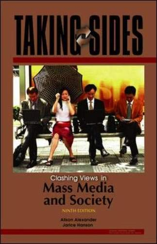 9780073515021: Taking Sides: Clashing Views in Mass Media and Society