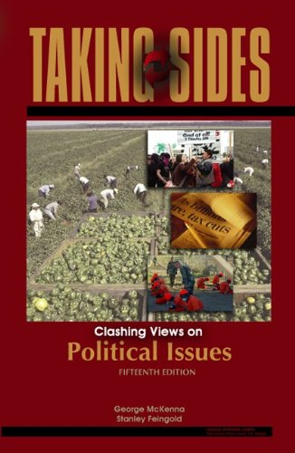 9780073515052: Taking Sides: Clashing Views on Political Issues