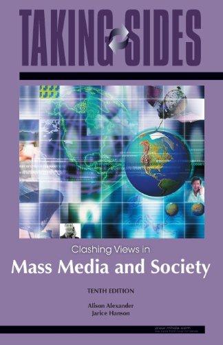 9780073515243: Mass Media and Society: Taking Sides - Clashing Views in Mass Media and Society