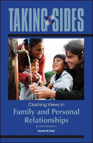 9780073515403: Taking Sides: Clashing Views in Family and Personal Relationships