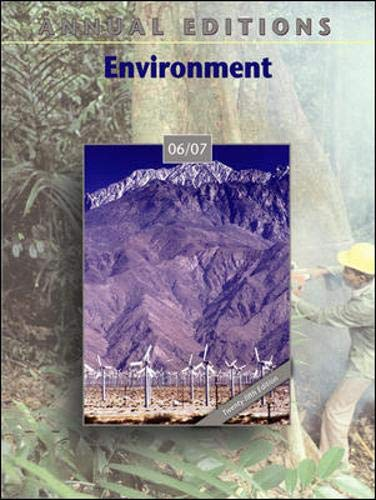 9780073515427: Annual Editions: Environment 06/07