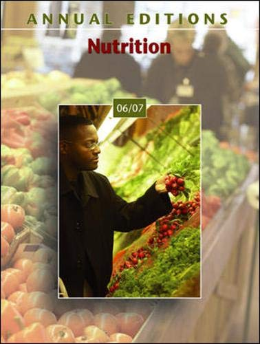 9780073515434: Annual Editions: Nutrition 06/07