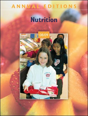 9780073515472: Annual Editions: Nutrition 08/09