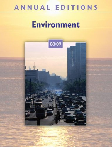 9780073515489: Annual Editions: Environment 08/09
