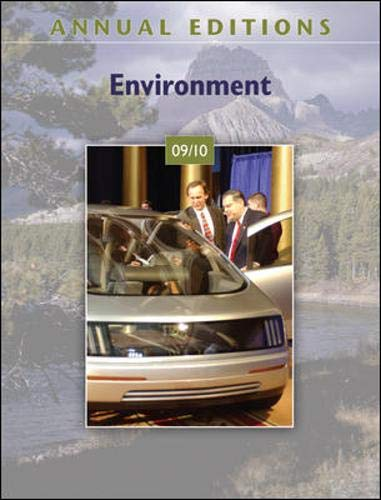 9780073515496: Annual Editions: Environment 09/10