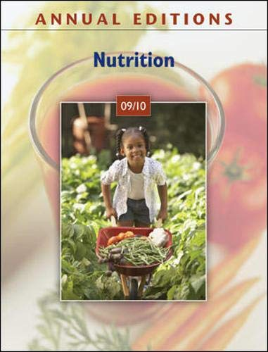 9780073515502: Annual Editions: Nutrition 09/10
